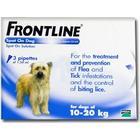 Merial Frontline DOG 10-20 Kg [Medium Dog]  (3 PACK)